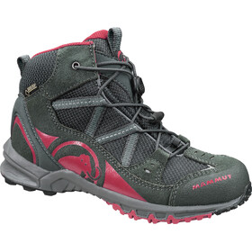 Mammut Kids Nova Mid GTX Shoes graphite-crimson
